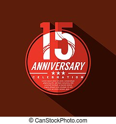 15 Years Anniversary Celebration Design