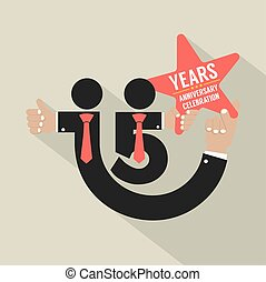15 Years Anniversary Typography Design Vector Illustration