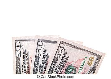 150, dollar américain