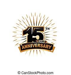 15th anniversary illustration