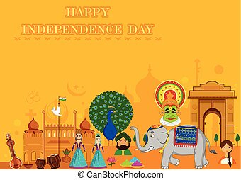 Happy Independence Day of India