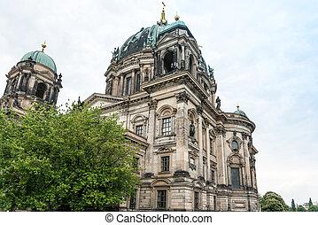 16, :, dom., 16, maio, mitte, berlim, -, famosos, berlim, alemão, landmark., catedral, church., 2016, berliner, germany.