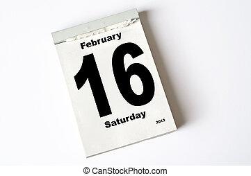 16., februari, 2013