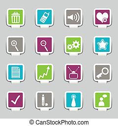 16 Internet Icons Part 1