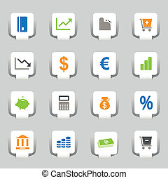 16 web icons business