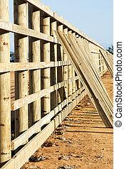 1689, construction, barrière