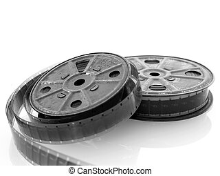 16mm Film - 16mm film spools