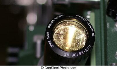 16mm Film Projector Optical Lens