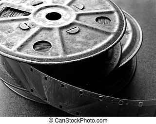 16mm Film Spools - 16mm film spools,tin.