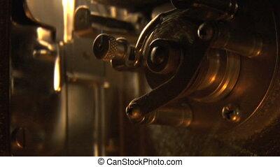 16mm projector gears