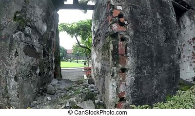 16th century walled city relics and remnants Founded by...