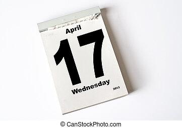 17. April 2013