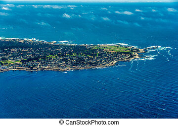 17 Mile Drive in California Aerial Photo