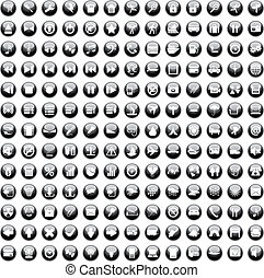 170, ikonen, set170, ikonen, sätta