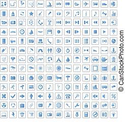 170, sätta, ikonen