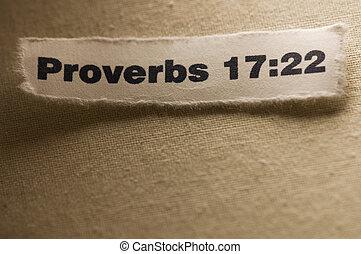 17:22, przysłowia
