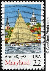 1788, april, maryland, 28