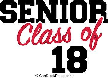 18, anziano, classe