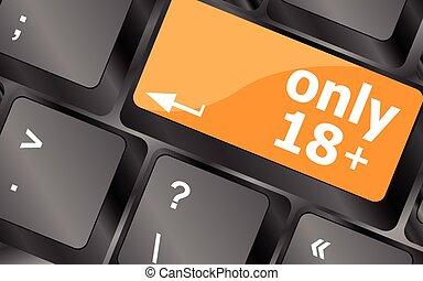18, bouton, foyer, illustration, seulement, vecteur, plus, ...