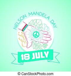 18, juillet,  mandela,  Nelson, jour
