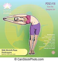 18 YOGA Side Stretch Pose
