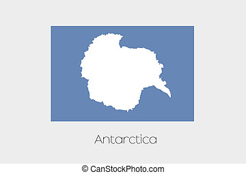 180 Degree Rotated Flag of Antartica - A 180 Degree Rotated...