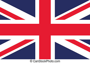 180 Degree Rotated Flag of  United Kingdom