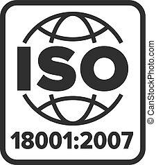 18001:2007, シンボル, iso, 証明される
