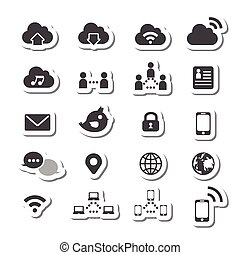 180internet icon set