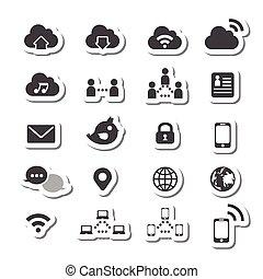 180internet icon set