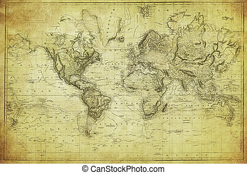 1831, mapa, společnost, vinobraní