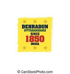 1850, since, dehradun
