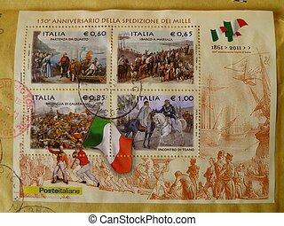 (1861-2011), unido, italia, país