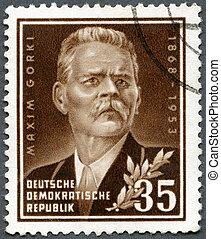 (1868-1936), gorky, 1953:, escritor, -, máxima, alemania,...