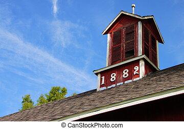 1882, stodoła, 2