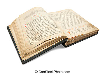 18st, siglo, vendimia, libro