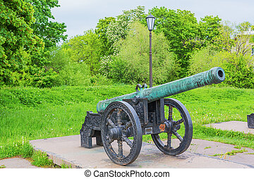 18th century cannon, Military Historical Museum of Artillery, Engineers and Signal Corps, Saint Petersburg, Russia