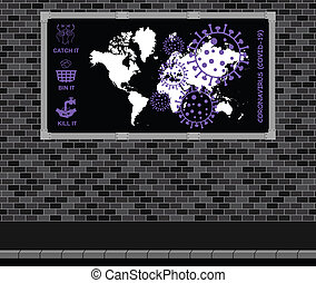 19, coronavirus, publicidad, covid, tabla