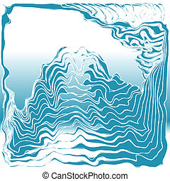 19 - sea and waves abstract background