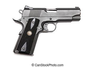"1911-family handgun with 4.3"" barrel. - Weapon series...."