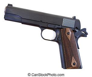 1911 pistol - handgun that is still in use that was designed...