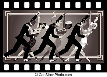 1920s style party