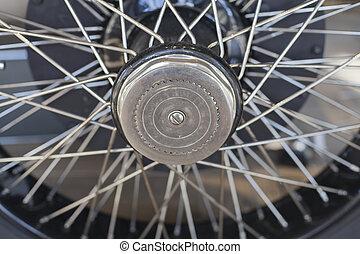 1920's Vintage Car Wheel