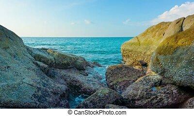 Seashore and rocks. Phuket