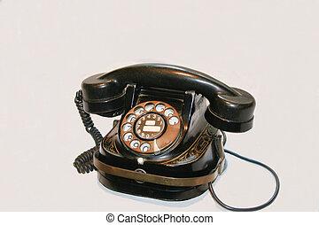 1930\\\'s Belgian telephone - 1930\\\'s Belgian dial...