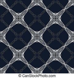 1930s geometric art deco modern pattern.