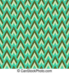 1930s geometric art deco pattern in faded green & grey...