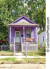 1930s Little Purple Cottage