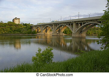 1932 Br Bridge in Saskatoon, SK, CA