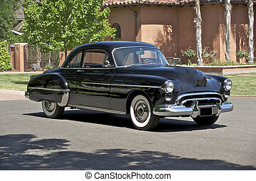1950 Black Coupe 4